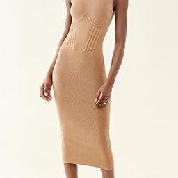 Corset Waist Dress   Shopbop