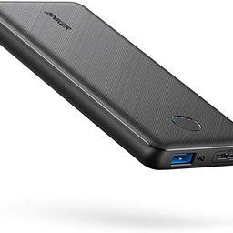 Anker Portable Charger, PowerCore Slim 10000 Power Bank, 10000mAh Battery Pack, High-Speed PowerI...   Amazon (US)
