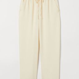Pull-on Lyocell-blend Pants | H&M (US)