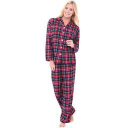 Alexander Del Rossa Women's Warm Flannel Long Pajama Set | Target