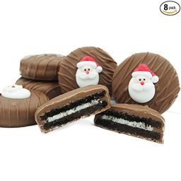 Philadelphia Candies Milk Chocolate Covered OREO Cookies, Christmas Santa Claus Gift 8 Ounce   Amazon (US)
