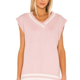 Lovers + Friends Sweater Vest in pink from Revolve.com   Revolve Clothing (Global)