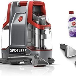 Hoover Spotless Portable Carpet & Upholstery Spot Cleaner, FH11300PC, Red Spotless | Amazon (US)