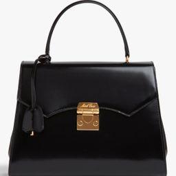Madeline Lady Leather Top Handle Bag | Olivela