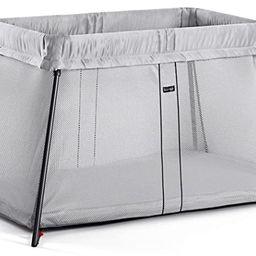 BABYBJORN Travel Crib Light - Silver | Amazon (US)