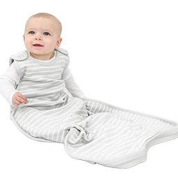 Woolino 4 Season Ultimate Baby Sleep Bag Sack - 2 - 24 Months Universal Size - Merino Wool - Gray | Amazon (US)