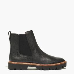 The Citywalk Lugsole Chelsea Boot in Leather   Madewell