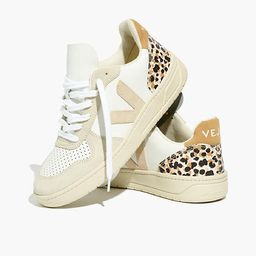 Madewell x Veja™ V-10 Sneakers in Animal Print Leather   Madewell