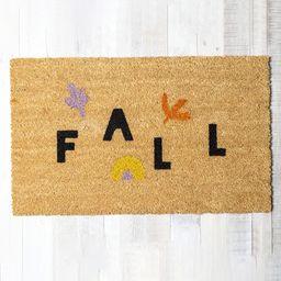 Abstract Fall Doormat   West Elm (US)