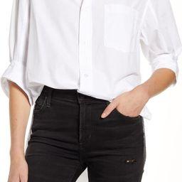 Kayla White Cotton Shirt   Nordstrom