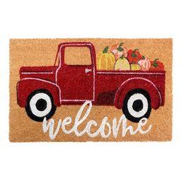 Pumpkin Truck Doormat by Ashland® | Michaels Stores