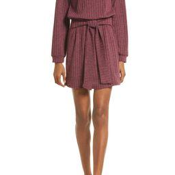 Tie Front Long Sleeve Dress | Nordstrom
