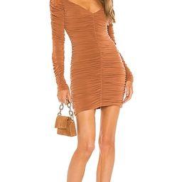 x REVOLVE Ana Mini Dress in Terra Cotta | Revolve Clothing (Global)