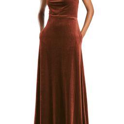 Cowl Neck Velvet Gown | Nordstrom