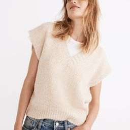 Cropped Sweater Vest   Madewell