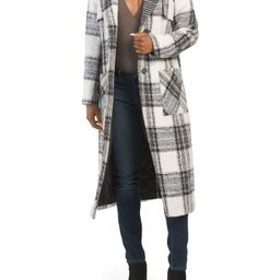 NVLT Plaid Lined Coat | Marshalls