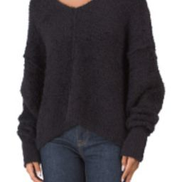 Free People Icing V Neck Sweater   Marshalls