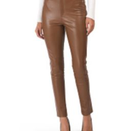 7 For All Mankind Skinny Faux Leather Pants   Marshalls