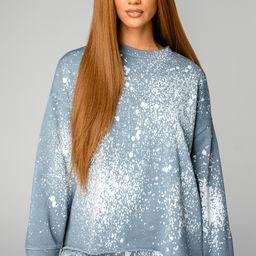 Hailey Loungewear Set - Slate   BuddyLove