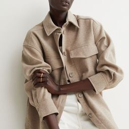 Fleece Shirt Jacket   H&M (US)