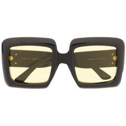 oversized square-frame sunglasses | Farfetch (US)