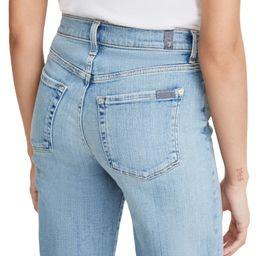 High Waist Crop Jeans | Nordstrom