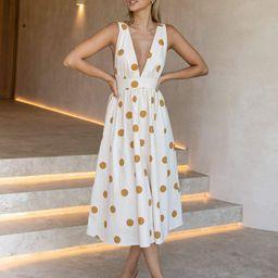 Ulmer Dress - Cream   Petal & Pup (US)