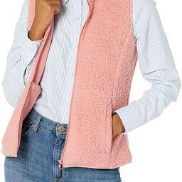 Amazon Essentials Women's Polar Fleece Lined Sherpa Vest | Amazon (US)
