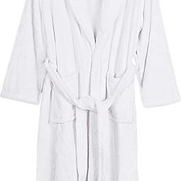 NY Threads Womens Fleece Bathrobe - Shawl Collar Soft Plush Spa Robe   Amazon (US)