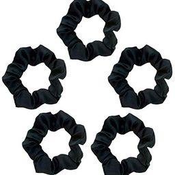Kitsch Pro Satin Scrunchies, Softer than Silk, Hair Scrunchies for Frizz Prevention, Satin Hair Ties   Amazon (US)