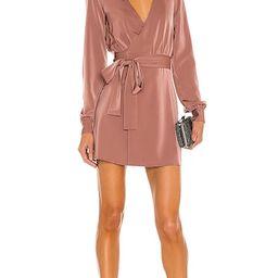 Janet Mini Dress in Mauve | Revolve Clothing (Global)
