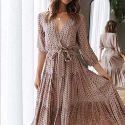 Hadyn Dress - Beige | Petal & Pup (US)