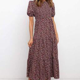 Minot Dress - Brown Floral | Petal & Pup (US)