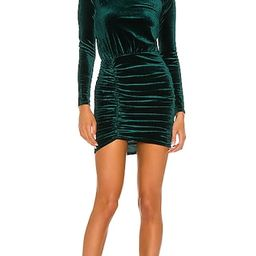 Ivana Mini Dress in Emerald Green | Revolve Clothing (Global)