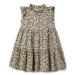 Leopard Ruffle Dress | Janie and Jack