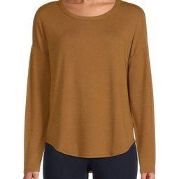 Time and Tru Women's Long Sleeve Hacci T-Shirt   Walmart (US)