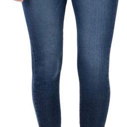 Donna High Waist Raw Hem Ankle Skinny Jeans | Nordstrom