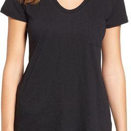 Rounded V-Neck T-Shirt | Nordstrom Canada