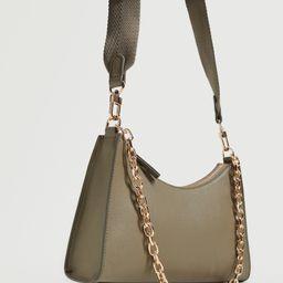 Crossbody bag with chain   MANGO (US)