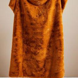 Hibernal Faux Fur Throw Blanket | Anthropologie (US)