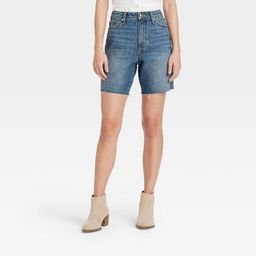 Women's Super-High Rise Bermuda Jean Shorts - Universal Thread™ | Target