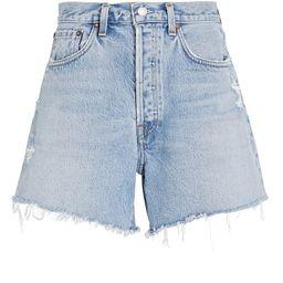Parker Long Denim Shorts   INTERMIX