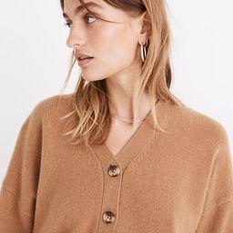(Re)sourced Cashmere Ex-Boyfriend Cardigan Sweater   Madewell