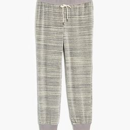 MWL Velour Space-Dyed Slim Joggers   Madewell