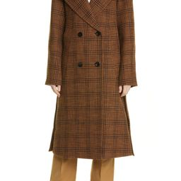 Plaid Double Breasted Coat   Nordstrom