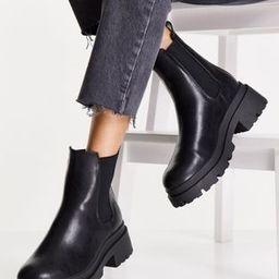 ASOS DESIGN Archer chunky chelsea boots in black | ASOS | ASOS (Global)