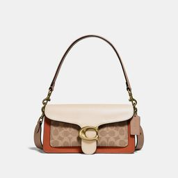 Tabby Shoulder Bag 26 With Signature Canvas   Coach (US)