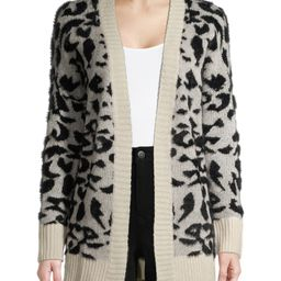 Dreamers by Debut Women's Leopard Print Cardigan - Walmart.com   Walmart (US)