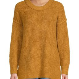Bohemian Rose Women's Crewneck Tunic Sweater - Walmart.com   Walmart (US)
