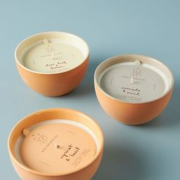 Good Natured Soy Ceramic Candle | Anthropologie (US)